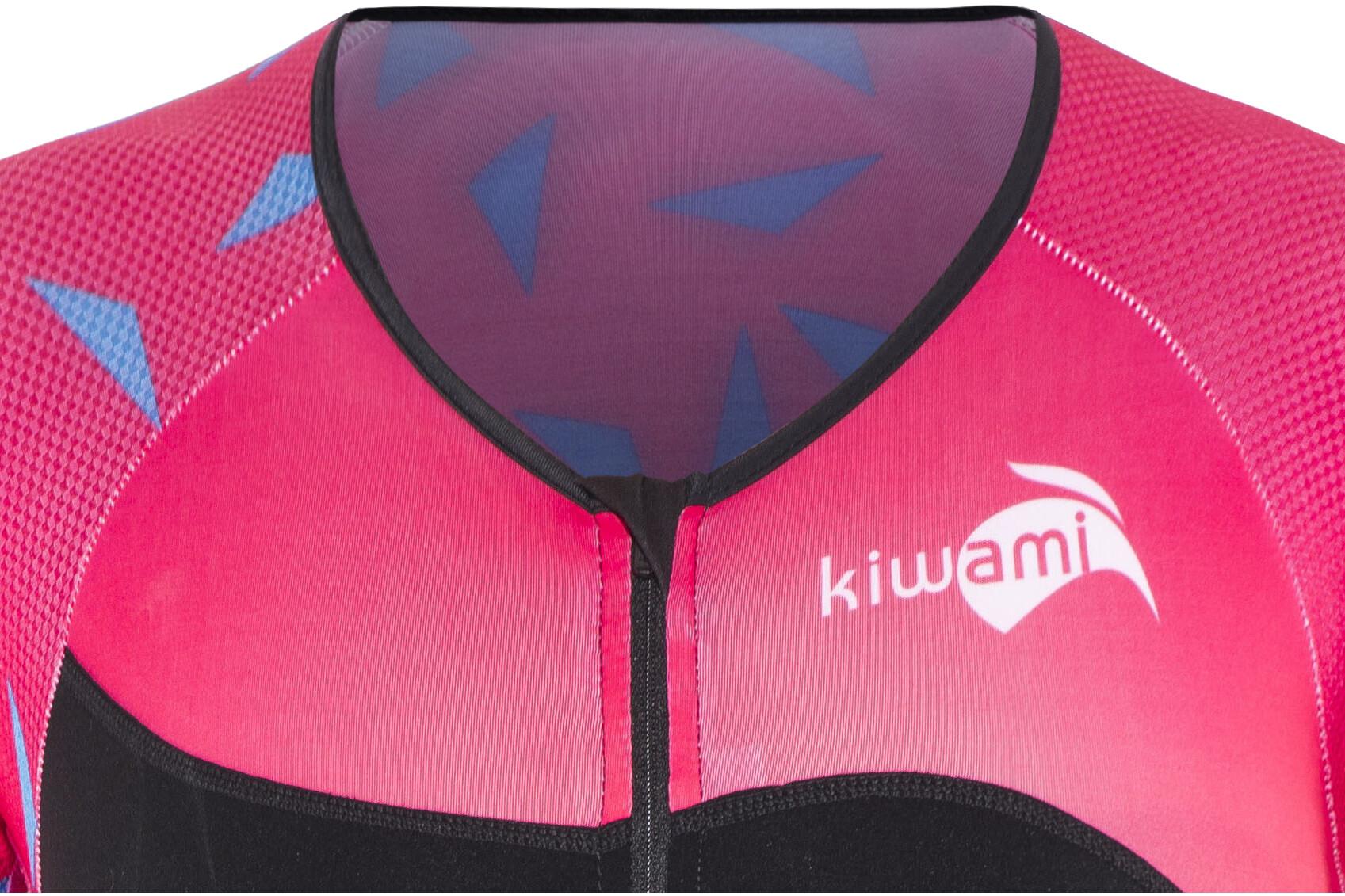 f55b193b0eb0d3 KiWAMi Tokyo LD Aero Trisuit Damen black/sakura/pink günstig kaufen ...